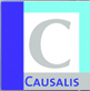 Logo and link to the website of Causalis Limited