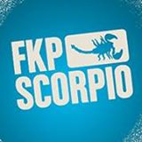 Logo and Link to website of FKP Scorpio Sverige AB