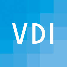 Logo and link to website of the association of German Engineers (VDI)